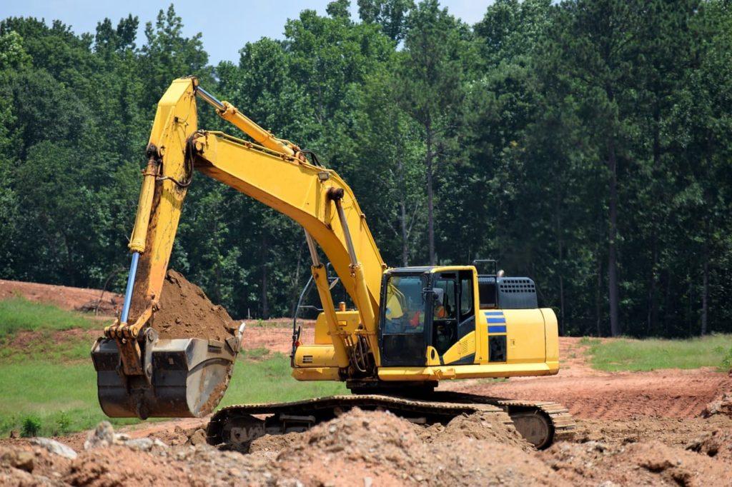 Erbau-Ausgrabungen
